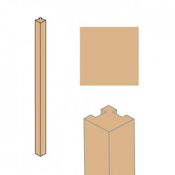 TEXI corner column sand
