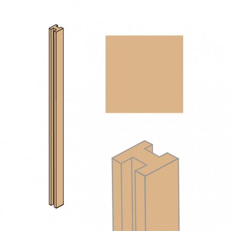TEXI sloupek průběžný pískový